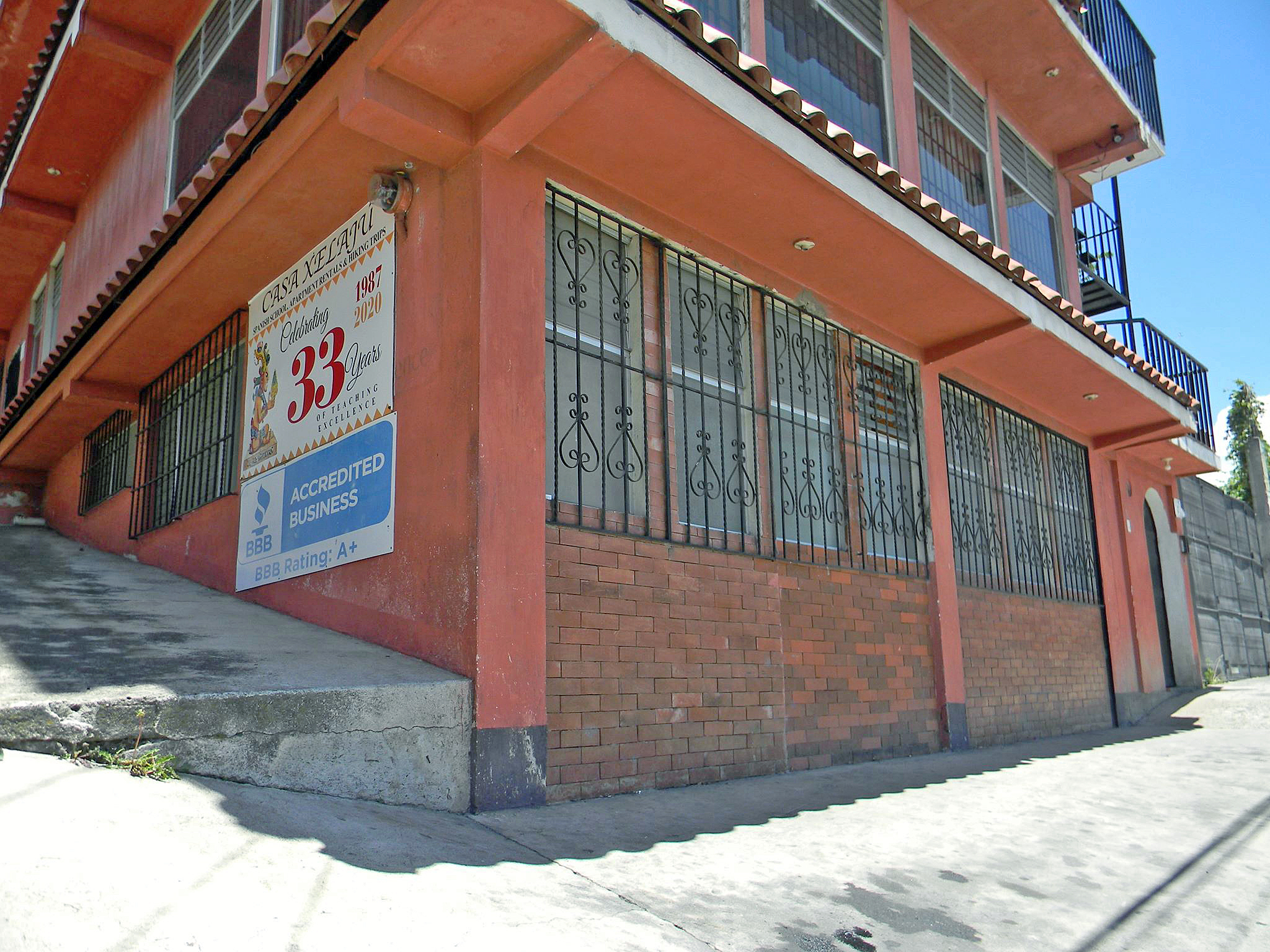 Street view of apartment # 3